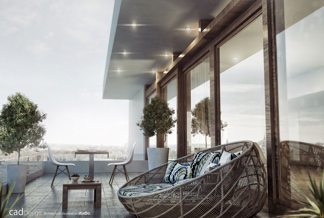 3d rendering architecture